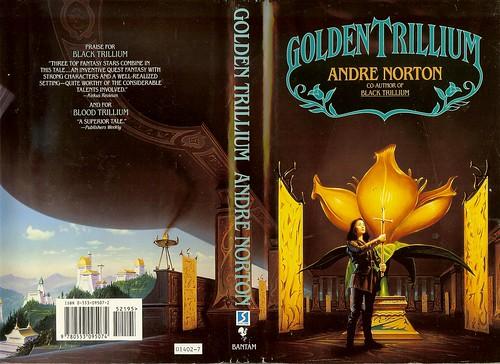Andre Norton Golden Trillium Cover Artist Mark Harrison A