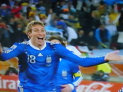 Palermo !!! (Ing Camb) Tags: world cup argentina southafrica football goal martin juniors mundial futbol palermo boca gol 100club seleccion 2010 sudafrica idolo goleador
