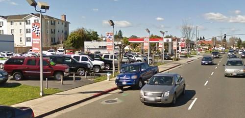 CA route 82 near Sunnyvale (via Google Earth)