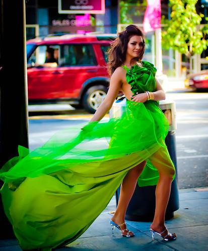 フリー写真素材, 人物, 女性, ドレス, アメリカ人,