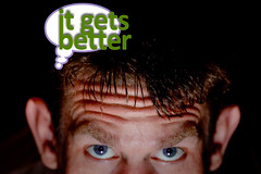 It Gets Better (CarbonNYC) Tags: sf sanfrancisco california gay selfportrait me self purple flash suicide meme thoughts forehead better thoughtbubble carbonnyc trevorproject itgetsbetter thetrevorproject suicidality thoughtsonsuicide