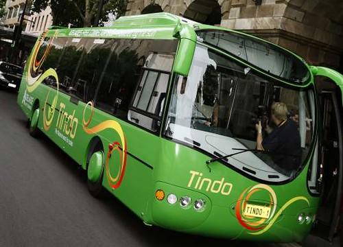 Ônibus a energia solar