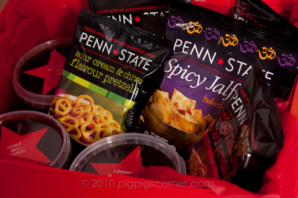Penn state give away snacks