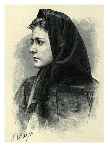 003- Mujer de Zicavo-The forgotten isles…1896-Frederic Breton
