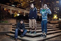 Trio (moiht) Tags: mall three downtown minneapolis guys mn strobist nicolett
