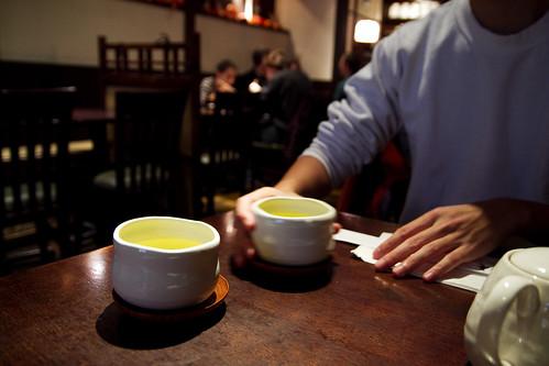 green tea + kwan