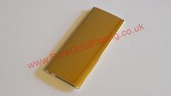 Gold Plated iPod Rear (PureGoldPlating) Tags: goldplating goldplatedipod