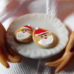 001 (DLSarmywife--DLightful Designs) Tags: handmade barbie polymerclay christmascookies miniaturefood 16thscale playscale