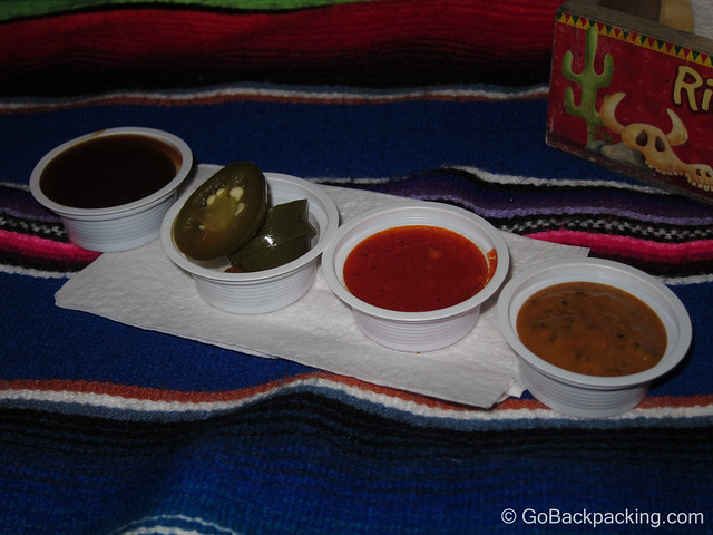 Salsas and peppers