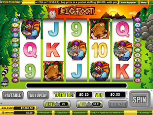 Big Foot slot game online review