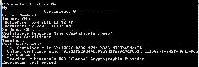A fatal error occurred when attempting to access the SSL server