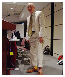 Seth Godin Shows His Socks