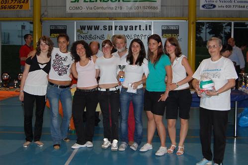 premiazioni FIPAV 2006-07 Terza Divisione