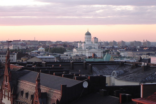 Helsinki Cathedral at 11 p.m. on June 21st 2007 by Anna Amnell