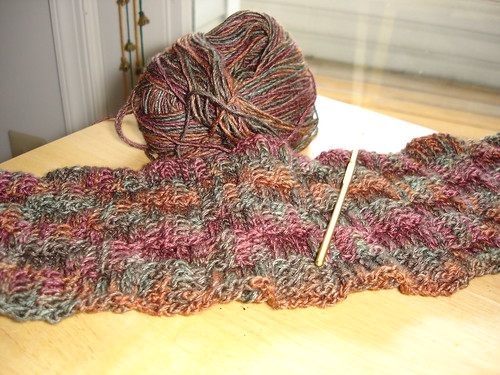 Basketweave Scarf 07