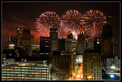 detroit fireworks (s o u t h e n) Tags: city nightphotography urban festival skyline architecture night freedom nikon skyscrapers fireworks ryan detroit event nighttime urbanexploration fourthofjuly nightshots d200 july4th 4thofjuly independenceday guardian penobscot 2007 parkavenue stott rencen renaissancecenter urbex booktower motown motorcity brodericktower guardianbuilding penobscotbuilding comericatower kalesbuilding whitneybuilding kales freedomfestival parkavenuehotel waterboardbuilding trolleyplaza riverdays nikond200 1001woodward foxtown southen ryansouthen stotttower targetfireworks detroitfirewords 2007targetfireworks 2007detroitfireworks