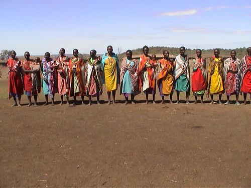 MaraB280 Mara Masai Village Welcome Song