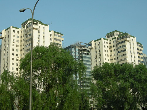 Beijing Tower Blocks