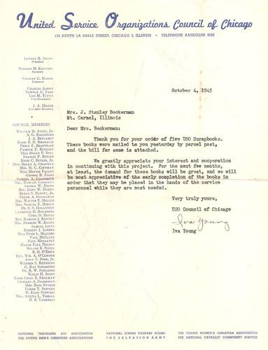 USO letter