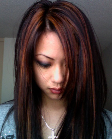 Toning down the orange on my highlights
