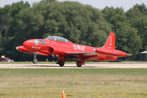 """Warbird picture - T-33 Shooting Star """"The Red Knight"""""""