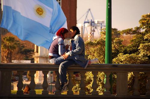 pareja en Buenos Aires Argentina