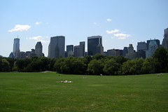 NYC - Central Park: Sheep Meadow (wallyg) Tags: park nyc newyorkcity ny newyork field grass skyline skyscraper nhl centralpark manhattan lawn meadow landmark gothamist sheepmeadow nationalhistoriclandmark nationalregisterofhistoricplaces usnationalhistoriclandmark nrhp usnationalregisterofhistoricplaces newyorkcitylandmarkspreservationcommission nyclpc sceniclandmark