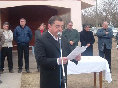 John Giorgetti (Pres. Comunal de Las Isletillas)