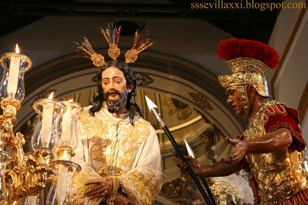 Nuestro Padre Jesús del Silencio en el Desprecio de Herodes.