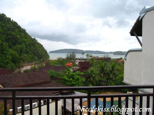 view from krabi la playa