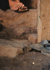 (shutterbugpooja) Tags: india abstract feet colours bodylanguage pp