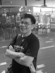 Phil (Mr Bagel) Tags: bridge friends cinema monochrome shopping lights mono blackwhite friend pretty chef movies harbourfront sentosa philip peranakan noreservations watchingamovie vivocity hugeshoppingmall