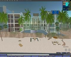 INF 315e Second Life classroom