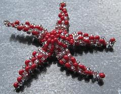 Estrella de mar. (naiarais) Tags: animal mar handmade estrella artesania manualidades abalorios estrellademar hechoamano bolitas hechopornaiara animalesdebolitas
