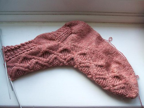 Hopscotch sock