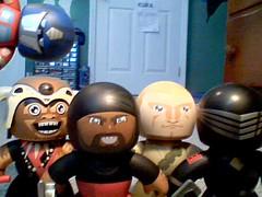 The Newest 5... (jdmoon96) Tags: prime eyes snake 5 duke optimus ram mighty mola muggs swordsman