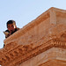 Young boy in the middle of Antiquity in Palmyra (Arabic: تدمر Tadmur‎), Syria