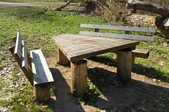 Rastplatz (ThomasKohler) Tags: lake nature table see chair natur teich tisch rast stuhl mv mecklenburg feisneck seenplatte feisnecksee