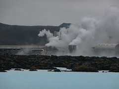 Geothermal plant at the Blue Lagoon