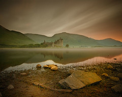KC and the Sunshine Band (BoboftheGlen) Tags: mountains castle water scotland highlands rocks argyll hills loch awe lochawe dalmally kilchurn the4elements