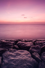Purple Sunset (Fajar Nurdiansyah) Tags: sunset bali beach indonesia landscape purple 1855mm tianyagnd8 fotgand8