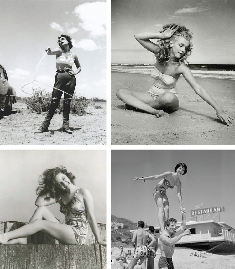 retro swimwear