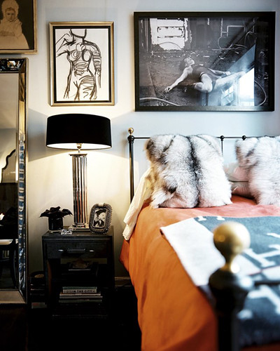Creative Nonsense Old Hollywood Bedroom Inspiration