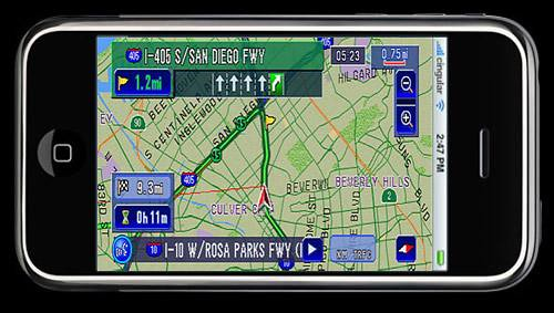 Funcion de GPS en el iPhone: Mapas y Rutas en el iPhone