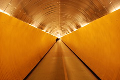 connecting tunnel