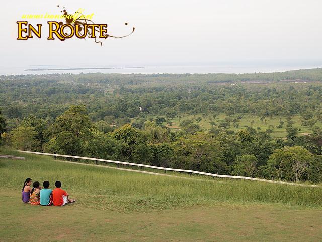 Enjoying the view at Mitra's Ranch