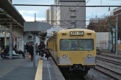 武蔵境駅西武多摩線101系