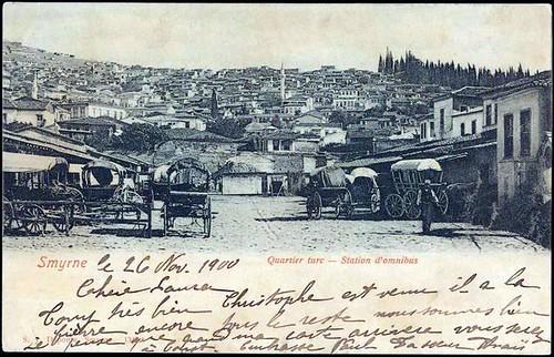 Karpostallarda yangından önce İzmir, Garaj