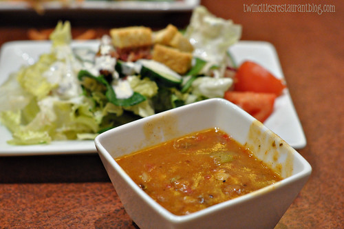Soup & Salad at bd's Bongolian Grill ~ Burnsville, MN