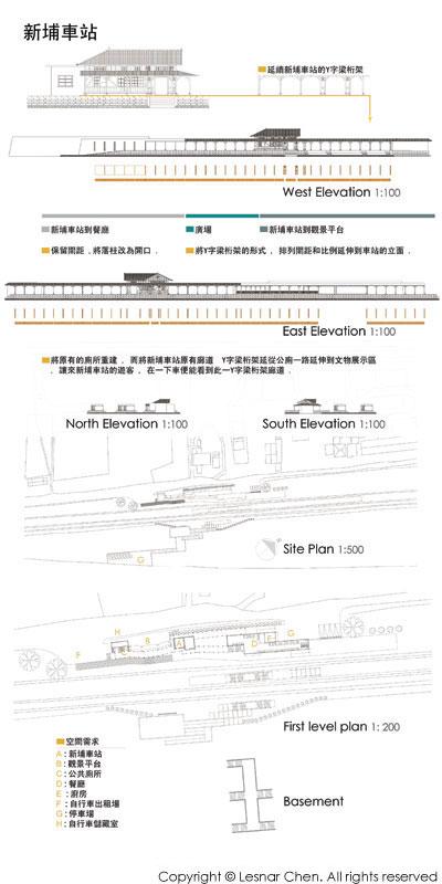 新埔車站設計-展覽海報